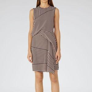 REISS | Sienna Printed Stripe Dress